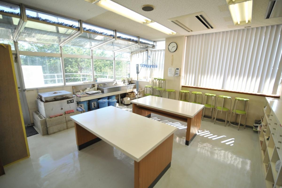 竹間沢公民館美術室