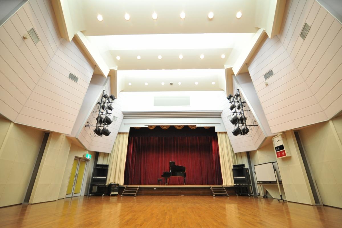 竹間沢公民館ホール