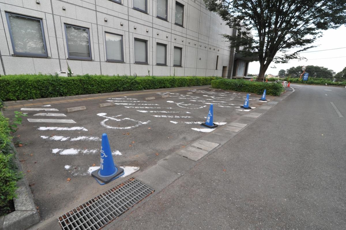 障がい者等用駐車スペース