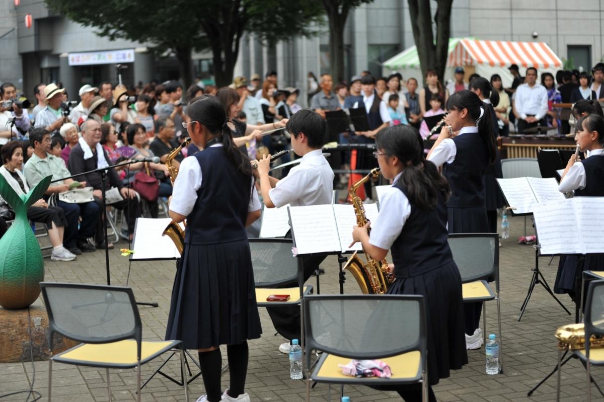 ロビーコンサート2015 in みよしまつり