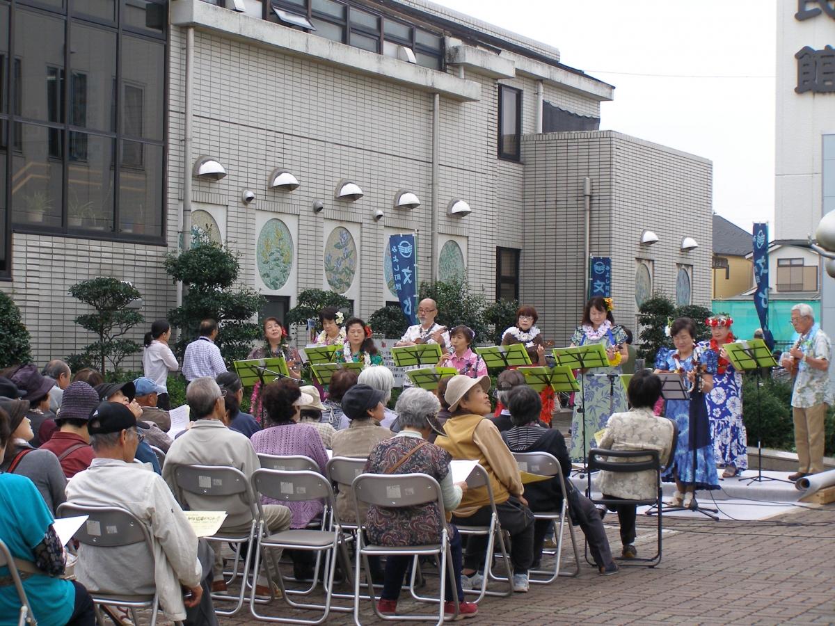 町民文化祭みらい広場イベント