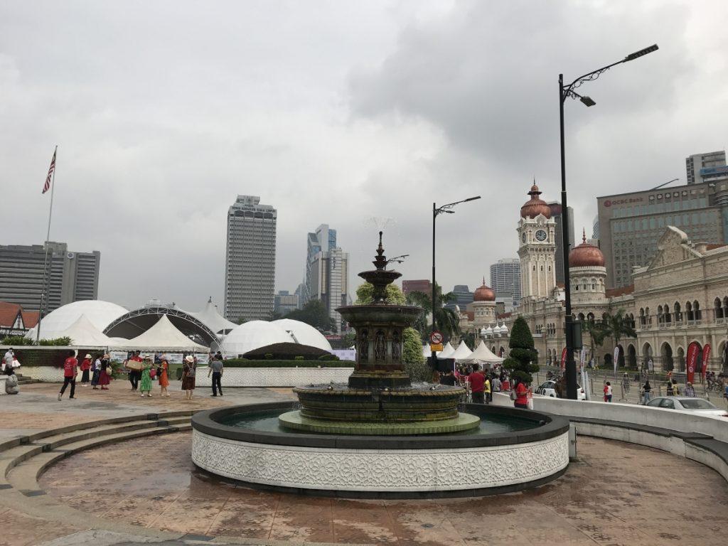 マレーシア独立広場